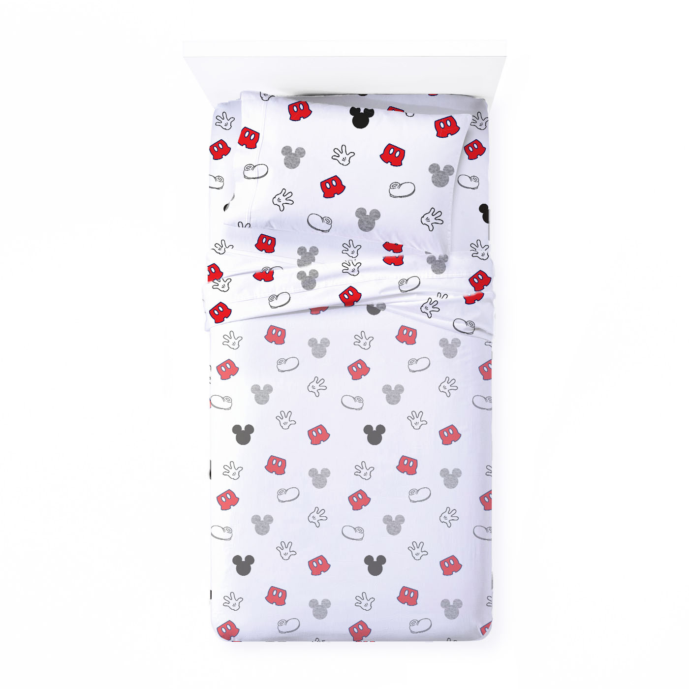 Saturday Park Mickey Mouse Pillowcase