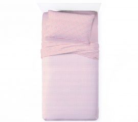 gingham kids sheets