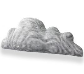 grey cloud pillow
